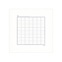 短歌帳専用用紙 5枚セット