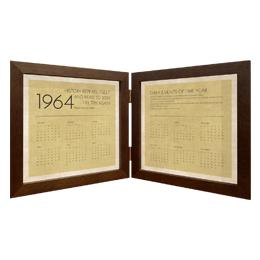 「1964 カレンダー」 フレーム付き