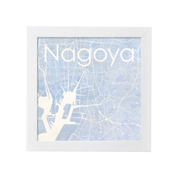 poster NAGOYA WATERCOLOR MAP 1L