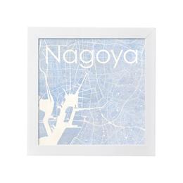 poster NAGOYA WATERCOLOR MAP 1L