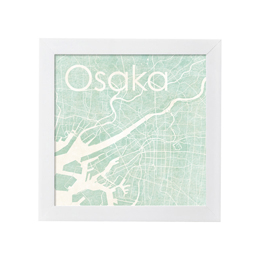 poster OSAKA WATERCOLOR MAP 1L