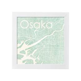 poster OSAKA WATERCOLOR MAP 1L